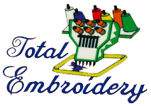 Total Embroidery Logo